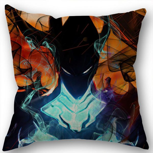 Custom Square Pillowcase Anime Solo Leveling Cotton Linen Pillow Cover Zippered 45x45cm One Sides DIY Gift 4 - Solo Leveling Merch Store