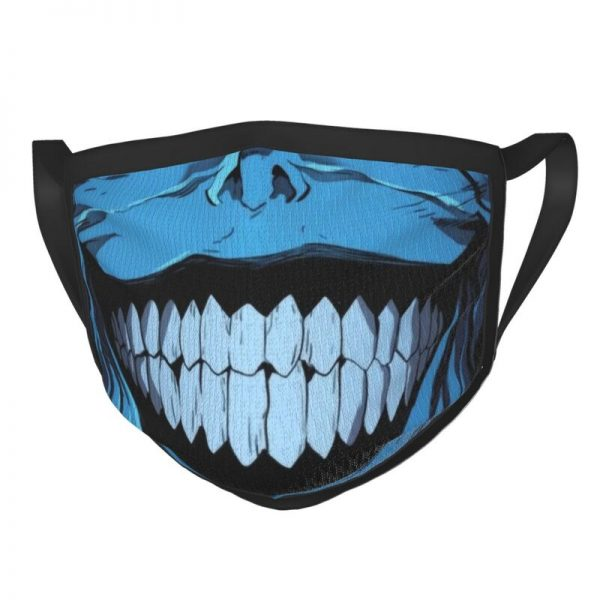 Evil Smile Solo Leveling Gift Face Mask Adult Anti Dust Horror Monster Smiley Mask Protection Respirator - Solo Leveling Merch Store