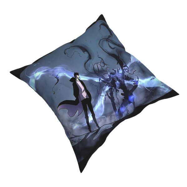 Manhwa Solo Leveling Igris And Sung Jin Woo Pillow Case Cover Easter Pillowcase Cushions Sofa 1 - Solo Leveling Merch Store