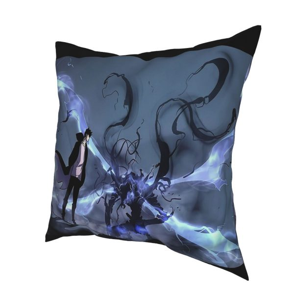 Manhwa Solo Leveling Igris And Sung Jin Woo Pillow Case Cover Easter Pillowcase Cushions Sofa 2 - Solo Leveling Merch Store