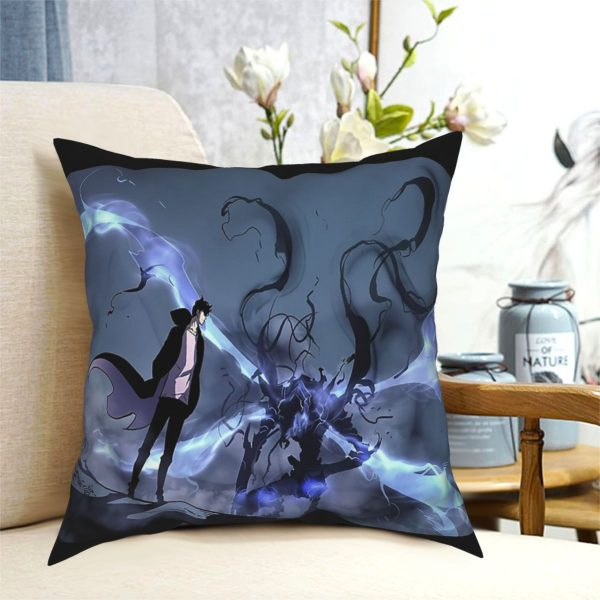 Manhwa Solo Leveling Igris And Sung Jin Woo Pillow Case Cover Easter Pillowcase Cushions Sofa 5 - Solo Leveling Merch Store