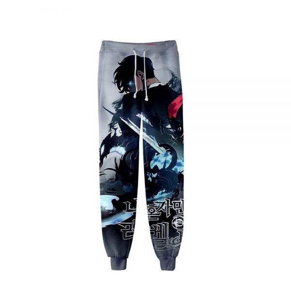Men Women Casual Trousers Hip Hop Sweatpants Pantalon Homme Sung Jin Woo Cosplay Costumes Manga Solo 1 - Solo Leveling Merch Store