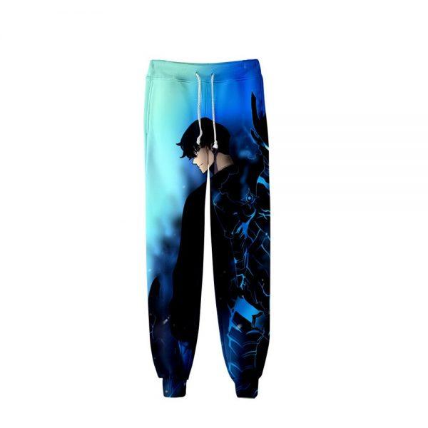 Men Women Casual Trousers Hip Hop Sweatpants Pantalon Homme Sung Jin Woo Cosplay Costumes Manga Solo 3 - Solo Leveling Merch Store