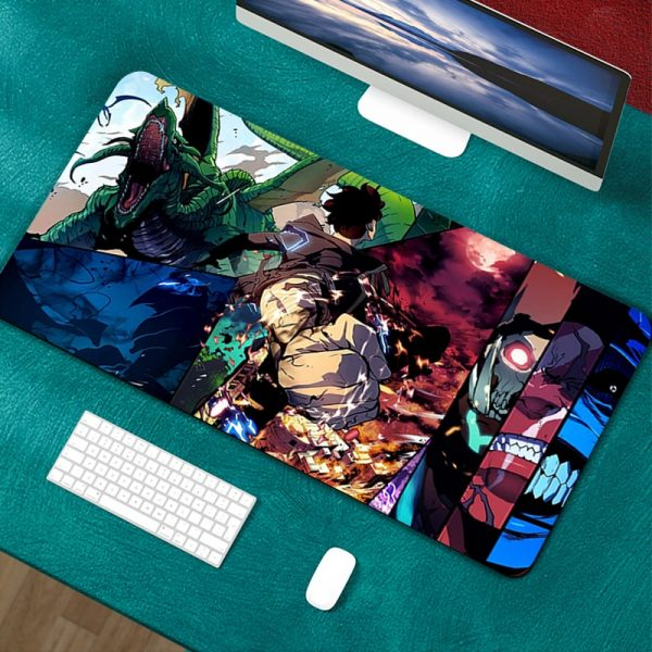 Mouse Pad solo leveling Gamer Mouse Pads Computer Mouse Mat Desk Mause Pad Keyboard Mouse Carpet - Solo Leveling Merch Store