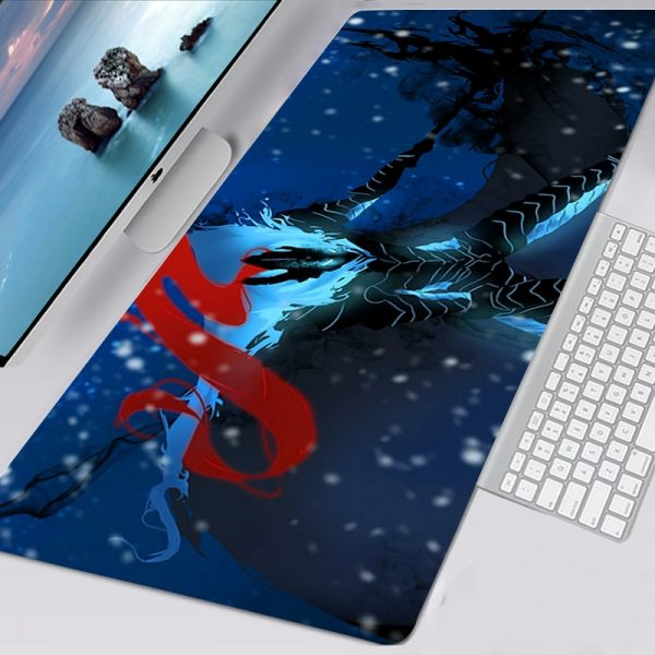 Mousepad Solo Leveling Kawaii Gaming Accessories Non slip Mouse Pad Gamer Girl Anime XXL Mausepad Keyboard - Solo Leveling Merch Store