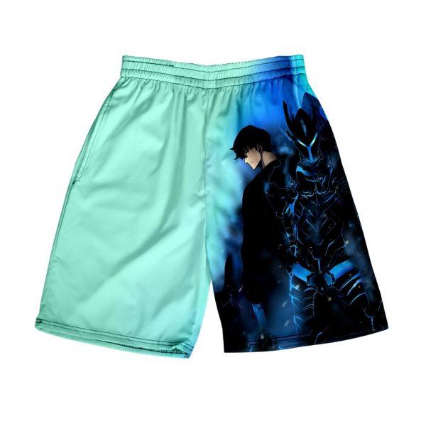 Solo Leveling 3D Print Summer Holiday Women Men Elastic Waist Japan Streetwear Shorts Casual Streetwear Style 2 - Solo Leveling Merch Store