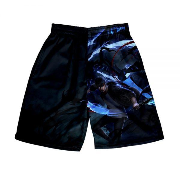 Solo Leveling 3D Print Summer Holiday Women Men Elastic Waist Japan Streetwear Shorts Casual Streetwear Style 3 - Solo Leveling Merch Store