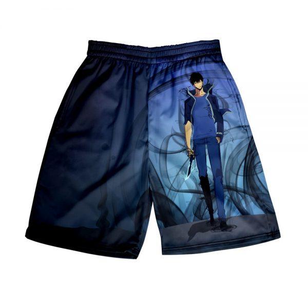 Solo Leveling 3D Print Summer Holiday Women Men Elastic Waist Japan Streetwear Shorts Casual Streetwear Style 4 - Solo Leveling Merch Store