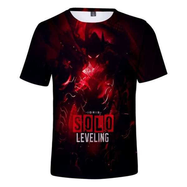 Solo Leveling 3D Spring Summer Preppy Style Men Women Street Clothes T shirt Novelty Streetwear Chic - Solo Leveling Merch Store