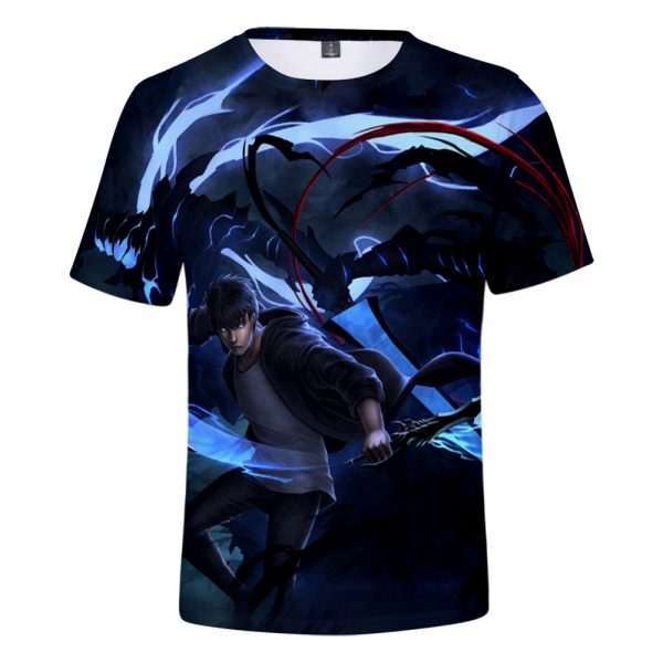 Solo Leveling 3D T Shirt Spring Summer Preppy Style Men Women Street Clothes T shirt Novelty - Solo Leveling Merch Store