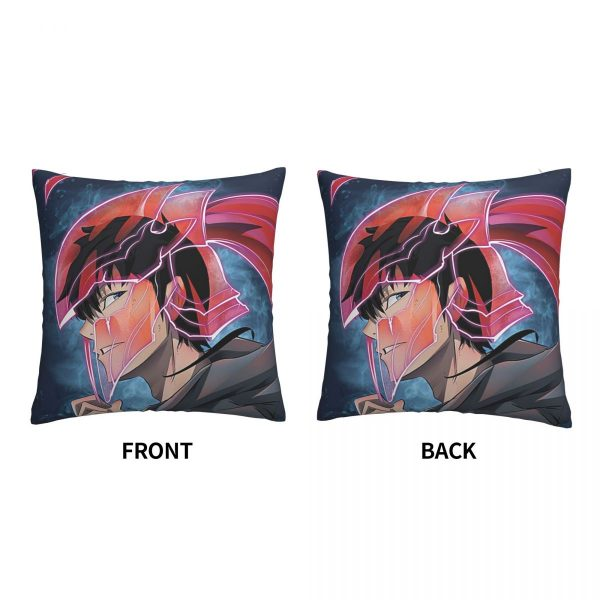 Solo Leveling Armour pillowcase printed cushion cover sofa waist pillow pillow cover 2 - Solo Leveling Merch Store