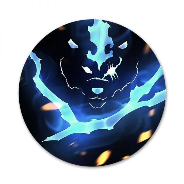 Solo Leveling Badge Brooch Pin Accessories For Clothes Backpack Decoration gift 4 - Solo Leveling Merch Store