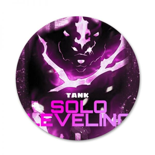 Solo Leveling Badge Brooch Pin Accessories For Clothes Backpack Decoration gift 5 - Solo Leveling Merch Store