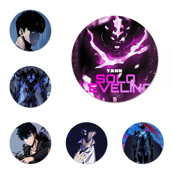 Solo Leveling Badge Brooch Pin Accessories For Clothes Backpack Decoration gift - Solo Leveling Merch Store
