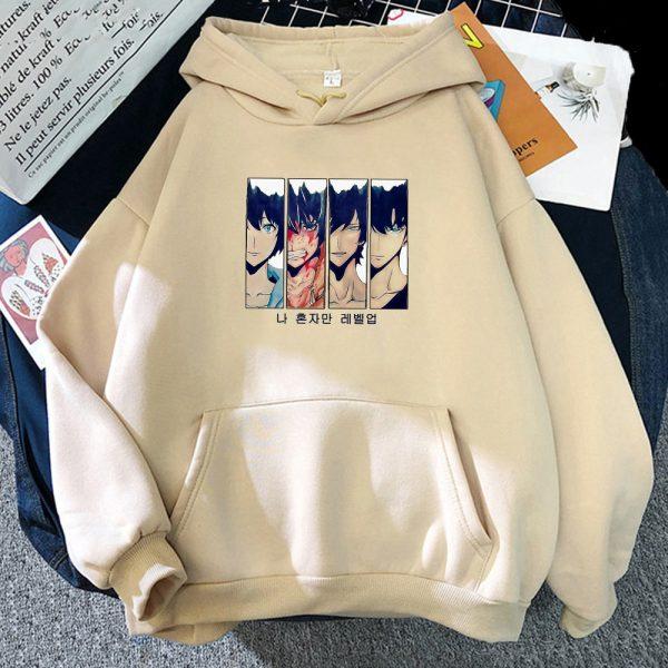 Solo Leveling Hoodie Women Funny New Fashion Long Sleeves Sung Jin Woo Print Harajuku Hoodies Sweatshirts 3 - Solo Leveling Merch Store