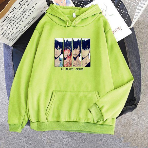 Solo Leveling Hoodie Women Funny New Fashion Long Sleeves Sung Jin Woo Print Harajuku Hoodies Sweatshirts 4 - Solo Leveling Merch Store