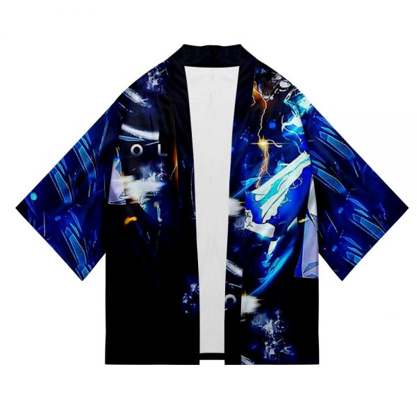 Solo Leveling Jin Woo Sung Yukata Japanese Cosplay Traditional Kimono Cardigan Harajuku Summer Haori Short Sleeve 4 - Solo Leveling Merch Store