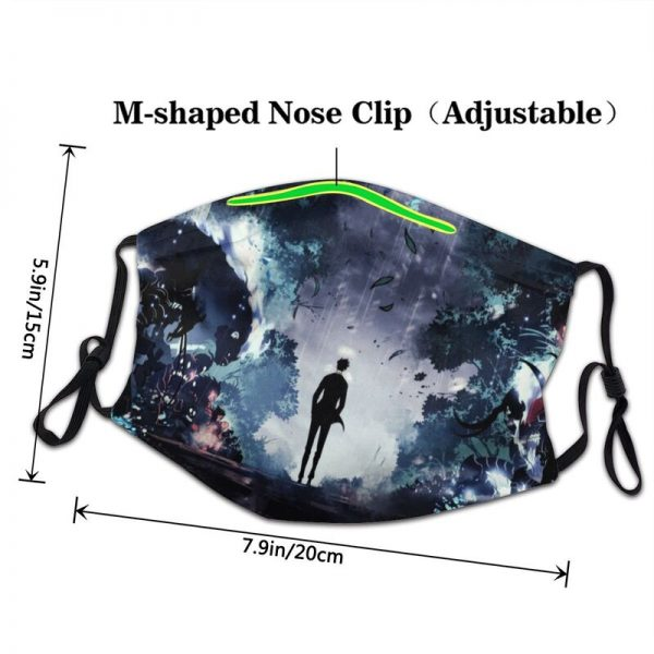 Solo Leveling Mask Anti Dust Breathable Manga Face Mask Protection Cover Men Respirator Mouth Muffle 2 - Solo Leveling Merch Store