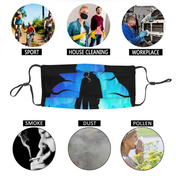 Solo Leveling Non Disposable Mouth Face Mask Adult Sung Jin Woo Anti Dust Mask Protection Cover 5 - Solo Leveling Merch Store