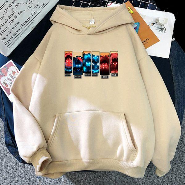 Solo Leveling Print Hoodies Men Anime Sweatshirts Hooded 2021 Spring Autumn Jacket Fleece Warm Hoodie With 1 - Solo Leveling Merch Store