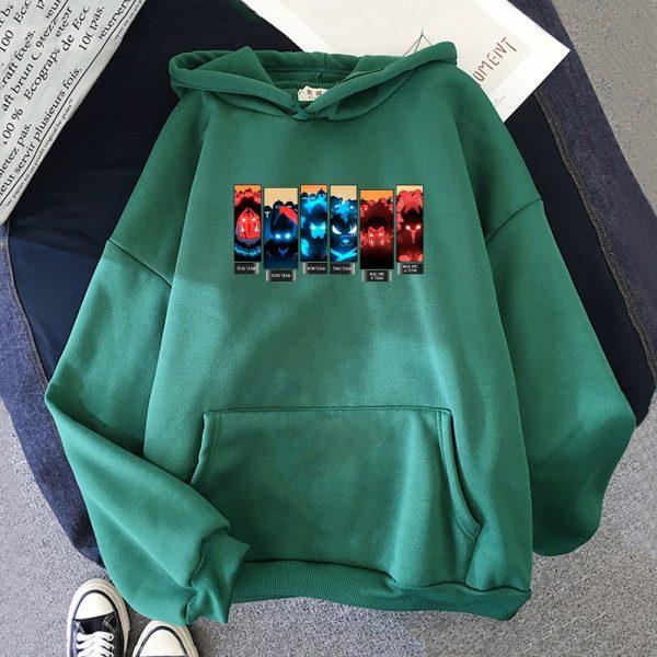 Solo Leveling Print Hoodies Men Anime Sweatshirts Hooded 2021 Spring Autumn Jacket Fleece Warm Hoodie With 3 - Solo Leveling Merch Store
