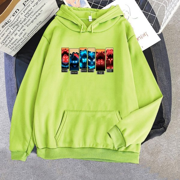 Solo Leveling Print Hoodies Men Anime Sweatshirts Hooded 2021 Spring Autumn Jacket Fleece Warm Hoodie With 4 - Solo Leveling Merch Store