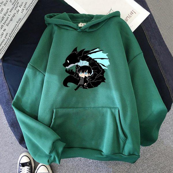 Solo Leveling Sweatshirt O Neck Tracksuit Women Men s Outwear Harajuku Streetwear 2021 Korean Manga Anime 1 - Solo Leveling Merch Store