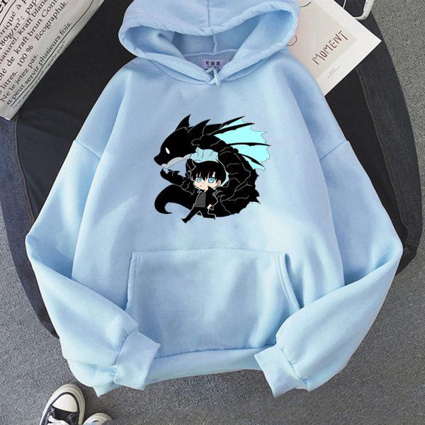 Solo Leveling Sweatshirt O Neck Tracksuit Women Men s Outwear Harajuku Streetwear 2021 Korean Manga Anime 11 - Solo Leveling Merch Store