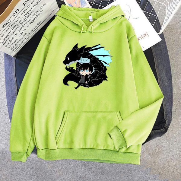 Solo Leveling Sweatshirt O Neck Tracksuit Women Men s Outwear Harajuku Streetwear 2021 Korean Manga Anime 4 - Solo Leveling Merch Store