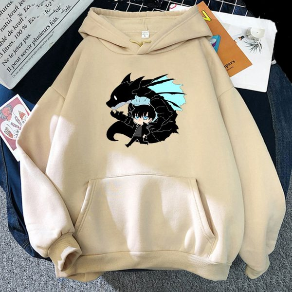 Solo Leveling Sweatshirt O Neck Tracksuit Women Men s Outwear Harajuku Streetwear 2021 Korean Manga Anime 7 - Solo Leveling Merch Store