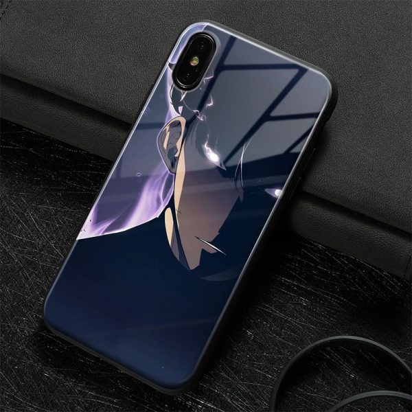 Sung Jin Woo solo leveling art Soft Silicone Glass Phone Case Cover Shell For iPhone SE 4 - Solo Leveling Merch Store