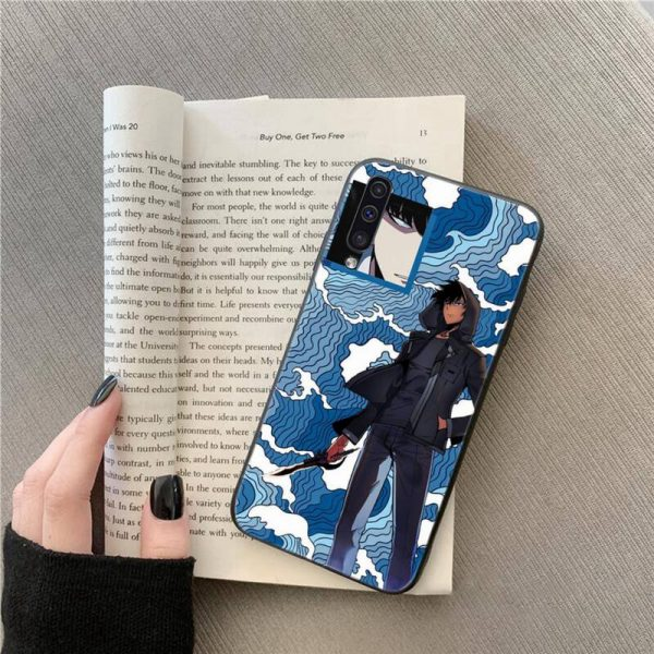 solo leveling Japan anime Phone Case For Samsung galaxy A S note 10 7 8 9 - Solo Leveling Merch Store