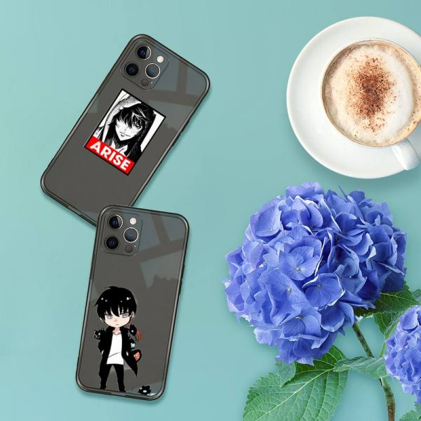 solo leveling Phone Case For iPhone 12 11 8 7 se 2020 pro X XS XR - Solo Leveling Merch Store