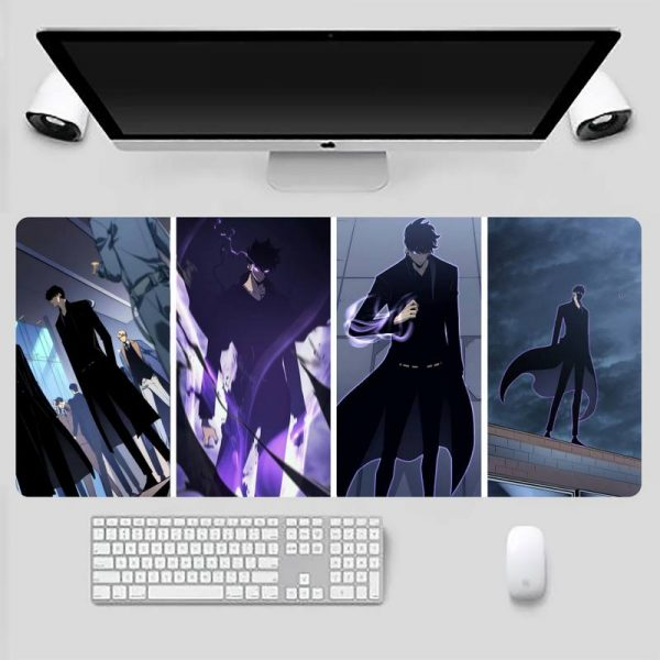 solo leveling anime Comfort Mouse Mat Gaming Mousepad Game Office Work Mouse Mat pad X XL - Solo Leveling Merch Store