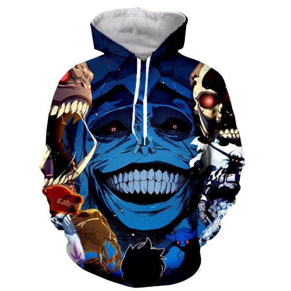 Solo Leveling Hoodie - 3D Monsters