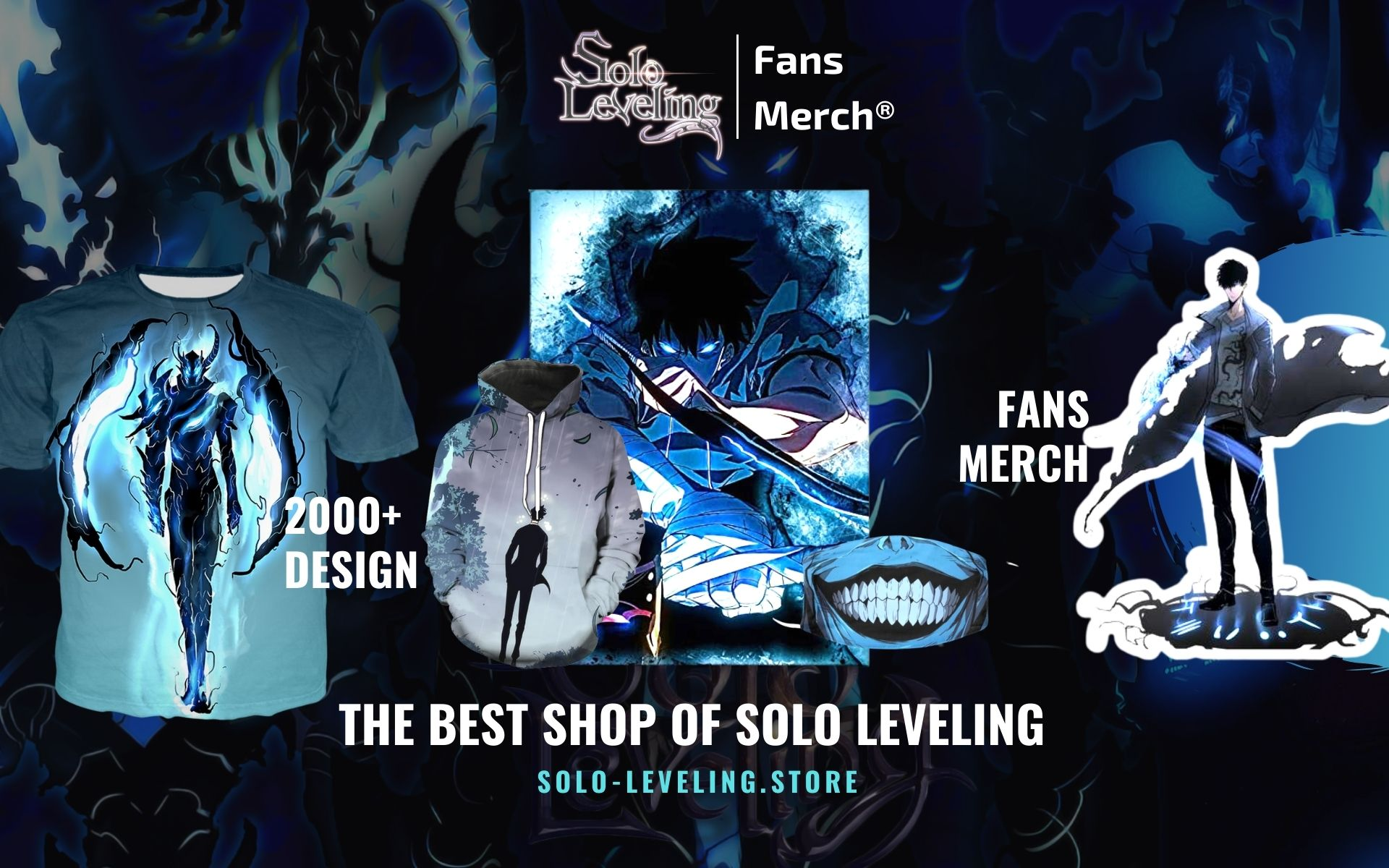 Solo Leveling Merch Web Banner - Solo Leveling Merch Store